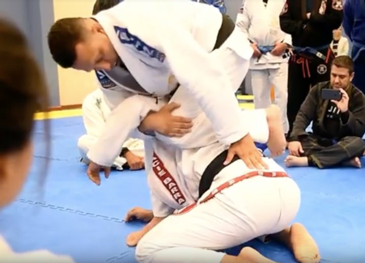 Renzo Gracie's Lethal Armlock Against a Turtled Opponent