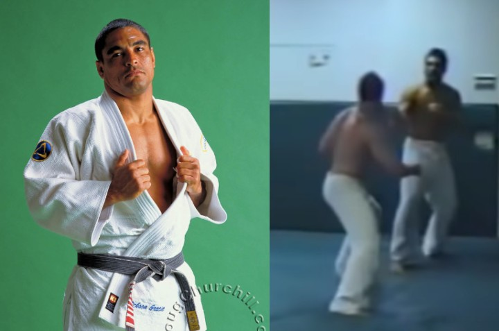 Rickson Gracie Facing an Alleged 6X Russian National Judo Champion