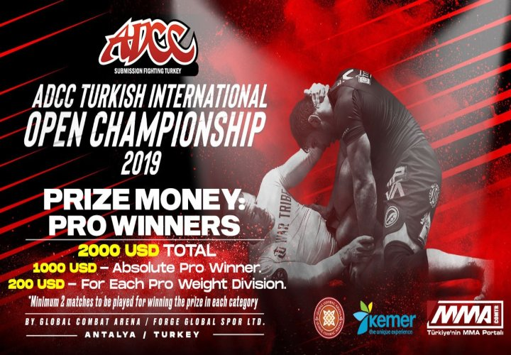 ADCC Turkey With $2000 Prize Money