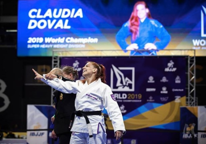3x World Champ Claudia Doval On  Going From Judo to BJJ & Becoming a Professional Competitor