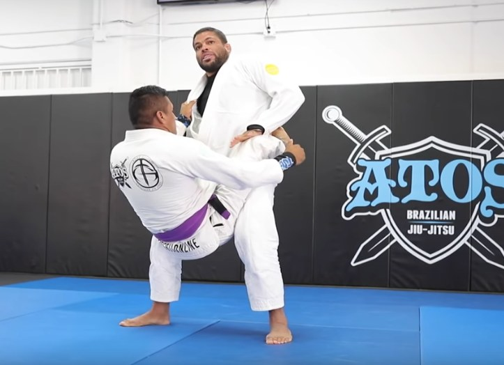 Andre Galvao Has An Effective Way Of Opening The Closed Guard