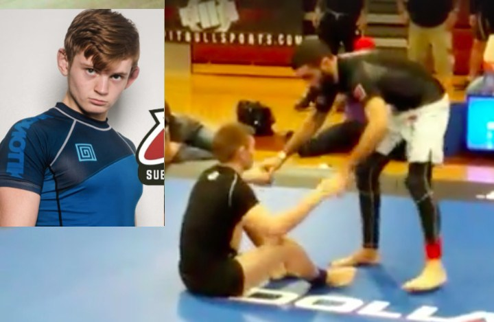 Wrestle from The Guard: Nicky Ryan's Buttscoot-Takedown