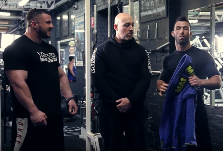 Bodybuilder & BJJ Practitioner: Specific Strength Competition
