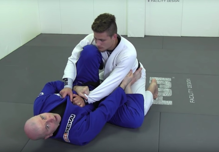 Finally Make That Scissor Sweep Work For You with this 2 on 1 Grip by John Danaher
