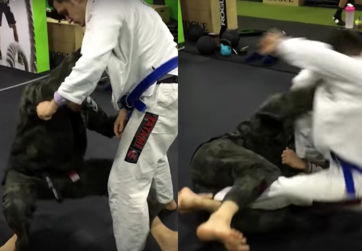 3 Effective Ways to Pull Half Guard Followed Right Away By a Sweep