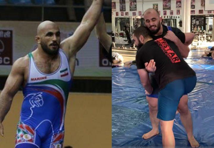 GSP Coach Firas Zahabi Shows How to Beat Wrestling with…Jiu-Jitsu!