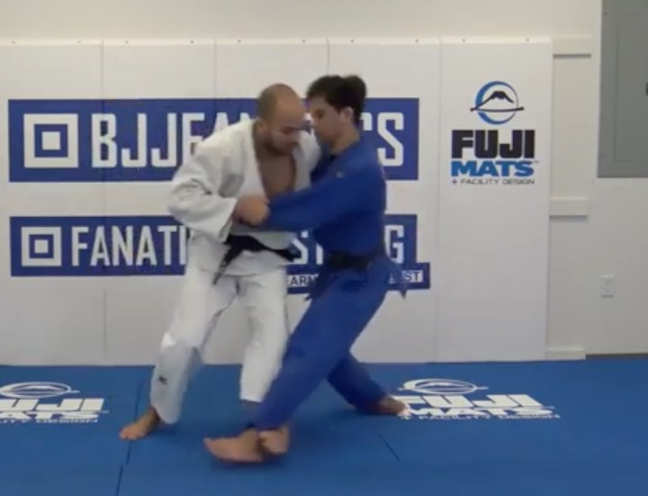 Olympic Medalist Ugo Legrand's Special Set up To Throw with Kouchi Gari