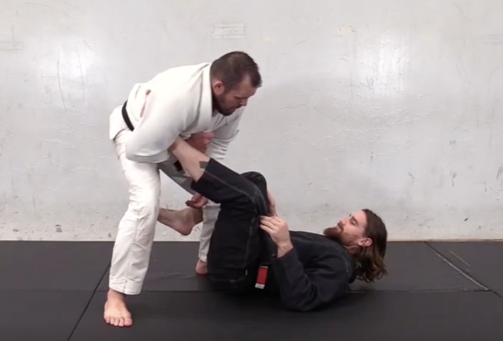 Always Catch The Straight Ankle Lock from Standing with Dean Lister