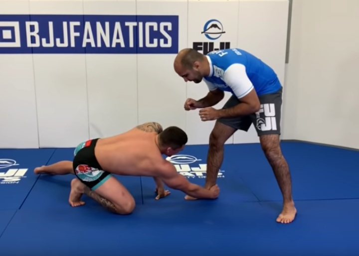 The Best Head Outside Low Single for BJJ by Nick Rodriguez