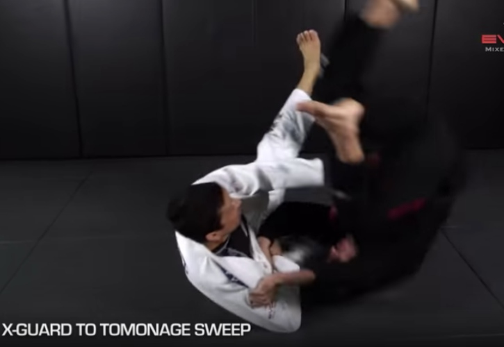 Here are 5 Ways To Sweep Your Opponent From X Guard