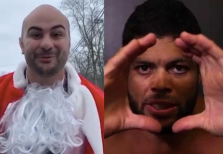 Andre Galvao & Hulk Do Hilarious Bernardo Faria Impersonations