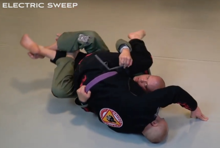 The IBJJF Legal Lockdown To Electric Sweep Is So Easy To Set Up