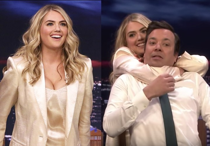 Super Model Kate Upton Is Obssessed By Jiu-Jitsu; Shows RNC To Jimmy Fallon