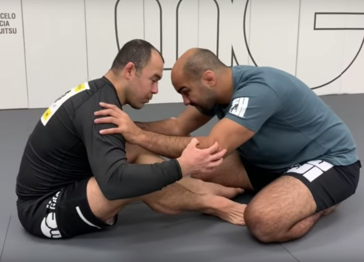 """""""Be One With The Floor"""" – The Secret To Marcelo Garcia's Butterfly Guard"""