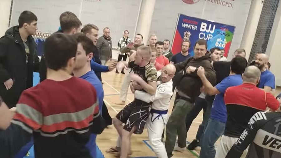 Brazilian Jiu-Jitsu tournament In Russia Ended in a Mass Brawl