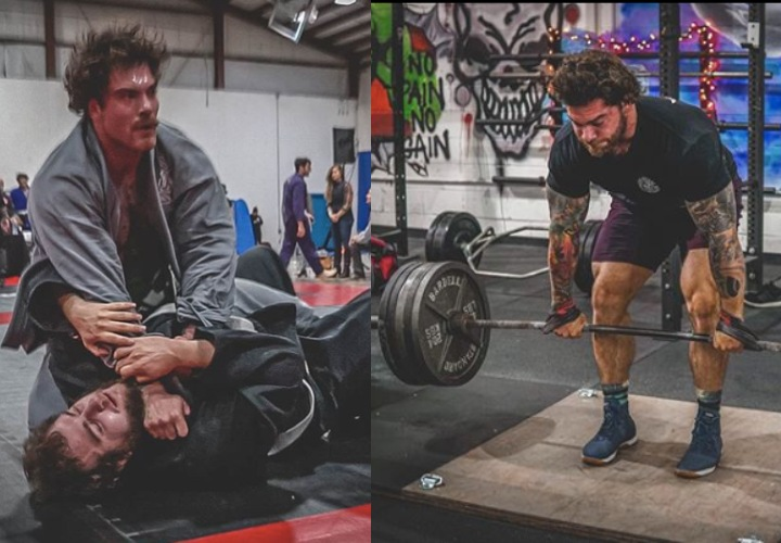 Strongman Athlete & BJJ Competitor on How He Trains STRENGTH for BJJ