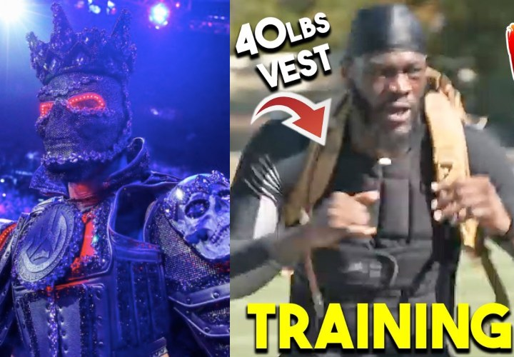 Deontay Wilder Tells Joe Rogan He Wears a 45-pound Vest in Training