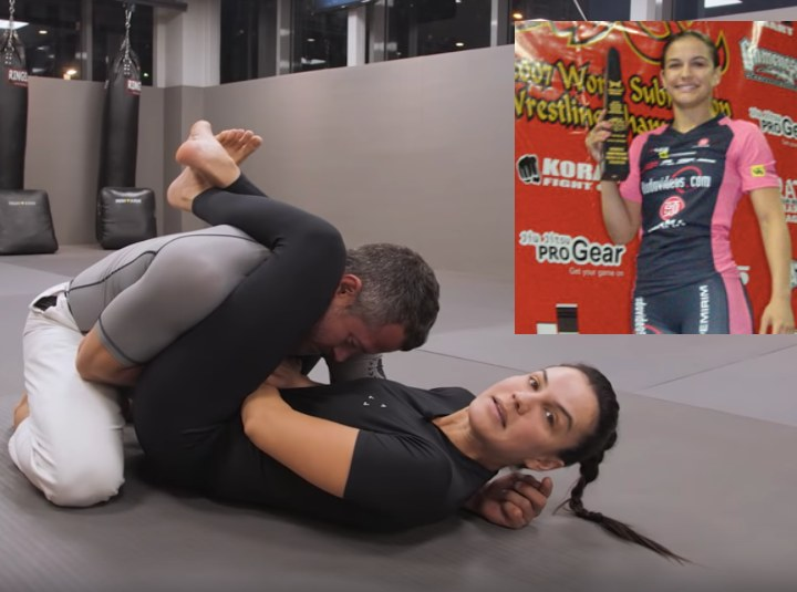 Kyra Gracie Teaches Brilliant Triangle Set Up which Won Her ADCC
