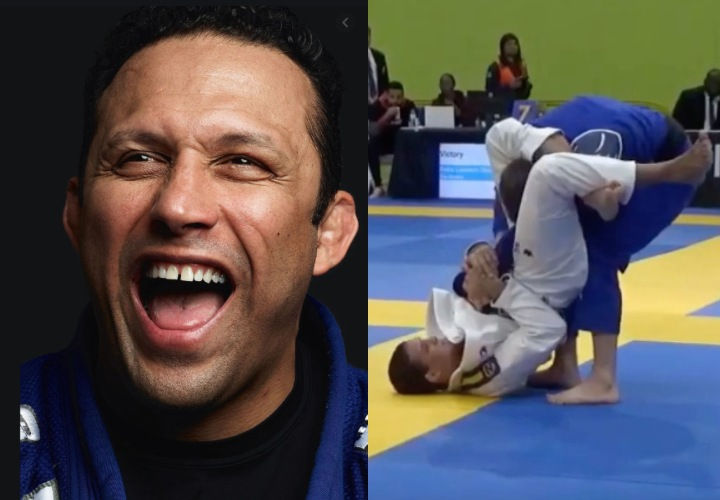 Renzo Gracie on Keenan Cornelius Disrespecting Rickson: 'You Just Got Submitted by a Triangle'