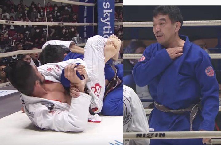 Robert Satoshi Submits 5 Opponents & Pops Yuki Nakai's Shoulder in Rizin BJJ Challenge