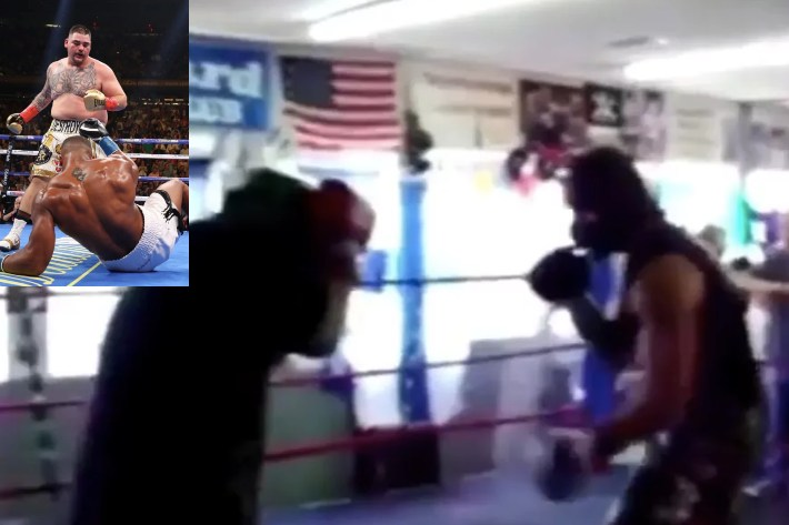 Video: 16-yr-old Andy Ruiz Drops Former UFC Champ Andrei Arlovski in Sparring