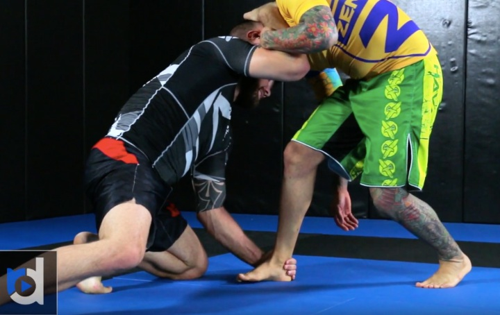 Effective & Easy Ankle Pick Takedown With Robert Drysdale