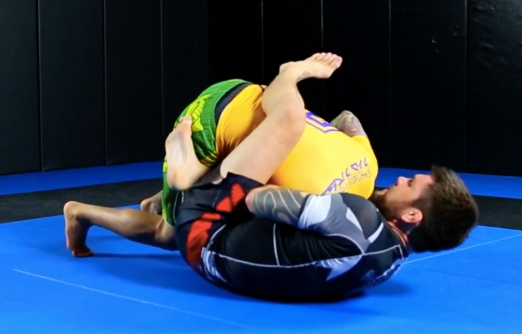 Robert Drysdale Shows The Best Head And Arm Guillotine Set Up for BJJ