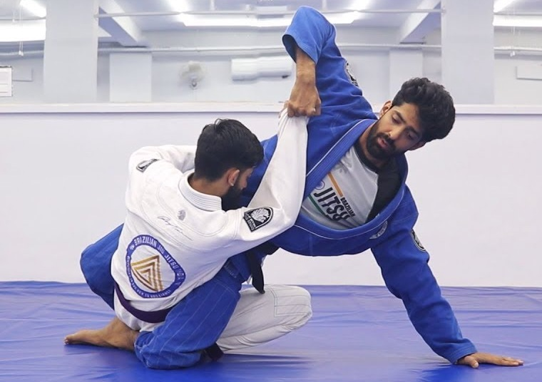 First Indian BJJ Black Belt's Game Changing Details For the Hip Bump Sweep
