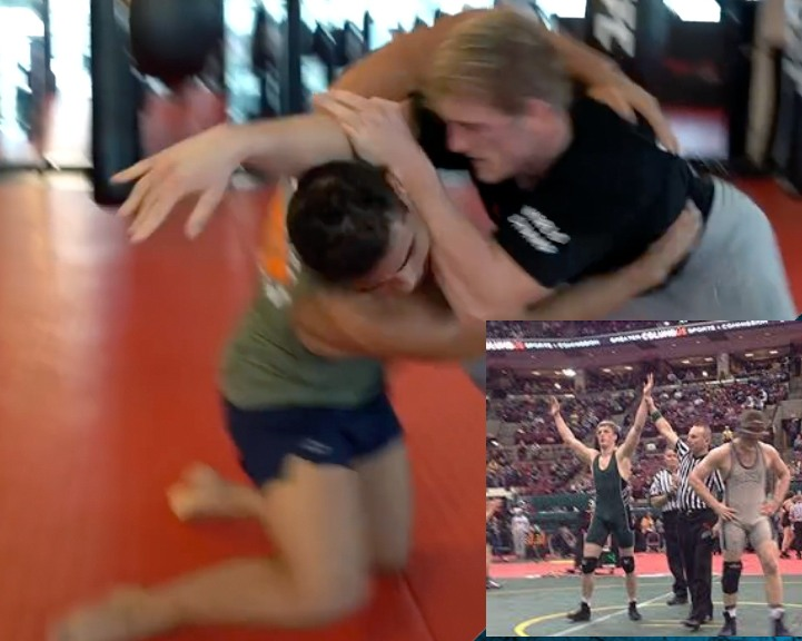 Youtube Celebrity Logan Paul Actually Held His Own Wrestling Paulo Costa