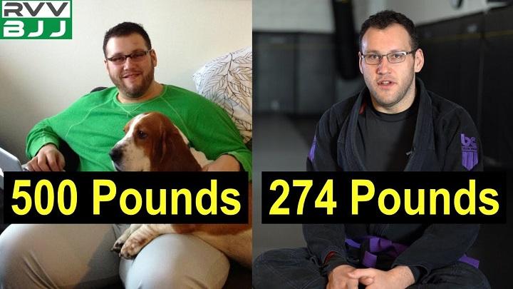 Jiu-Jitsu Lifestyle – How Mark Lost 200 Pounds Through BJJ