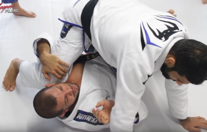 Great Deep Half To X Guard Sweep Variation, With Rodolfo Vieira