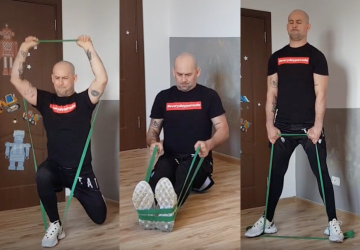Need A Great BJJ Workout At Home? Try These 11 Elastic Band Exercises