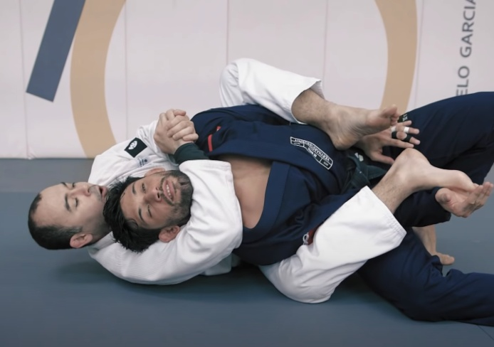 Dramatically Improve Your Ability To Finish From The Back with Marcelo Garcia