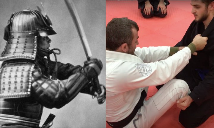 Use The Samurai Grip To Set Up Attacks In The Gi
