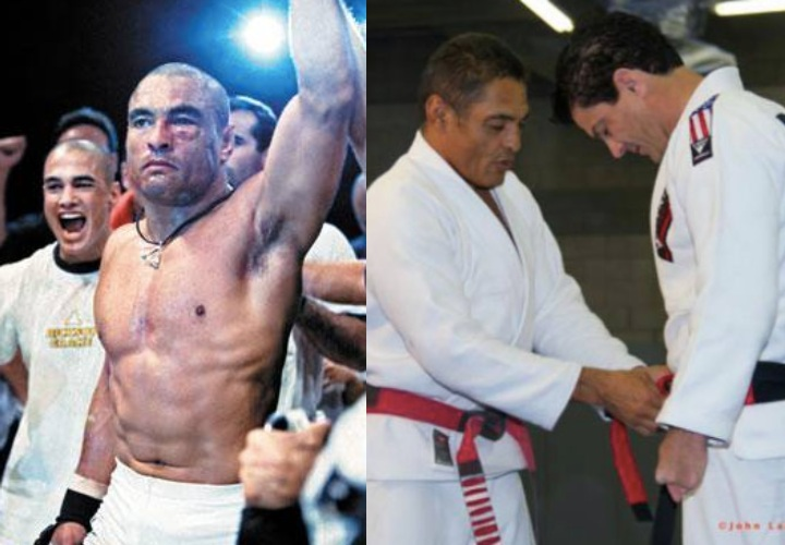 Jean Jacques Machado on Rolling With Rickson Gracie: 'It's Like He's Reading Your Mind'