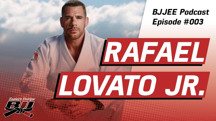 BJJEE Podcast #3 Rafael Lovato Jr On His Winning Return To Gi BJJ, His New Academy & More
