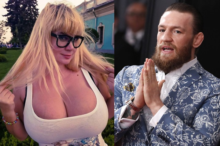 Ukrainian Plus Size Model To Make MMA debut, Conor McGregor invited as VIP Guest