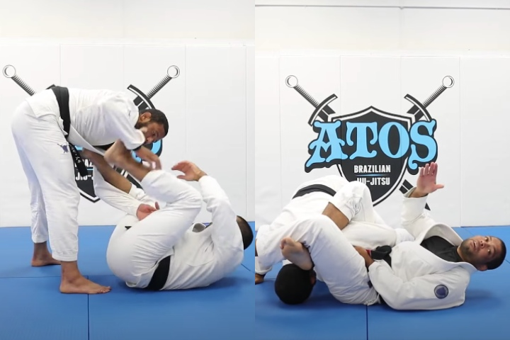 Use Your Spider Guard Lasso Control… And Omoplata Them!