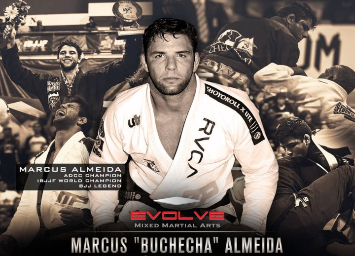 13x BJJ World Champ Marcus 'Buchecha' Joins The EVOLVE Fight Team
