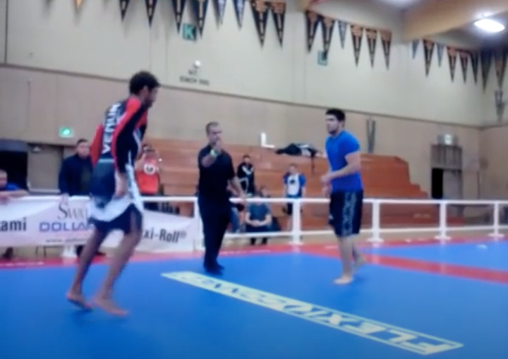 BJJ White Belt Signs Up For Pro Division. Faces World Champ Leandro Lo