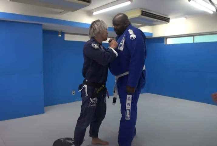 80 kg BJJ Black Belt Takes on 180kg White Belt with 1,5 Years Experience