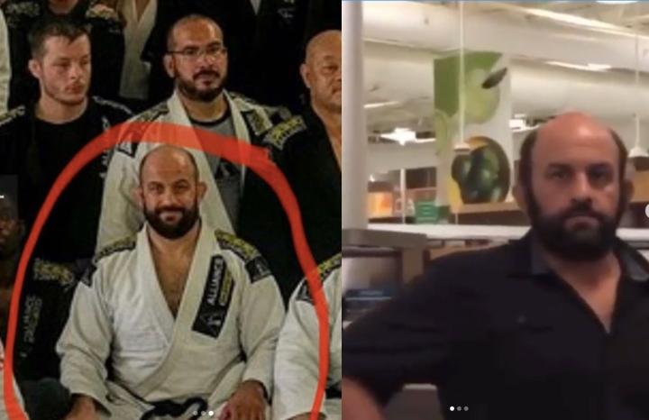 Alliance Jiu-Jitsu Black Belt Filmed in Racist Outburst At Store