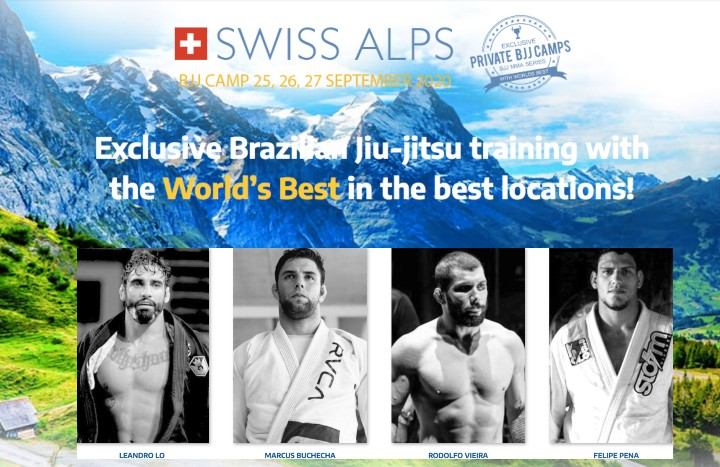 Dream Camp w/ Buchecha, Rodolfo, Lo, Preguica in Swiss Alps