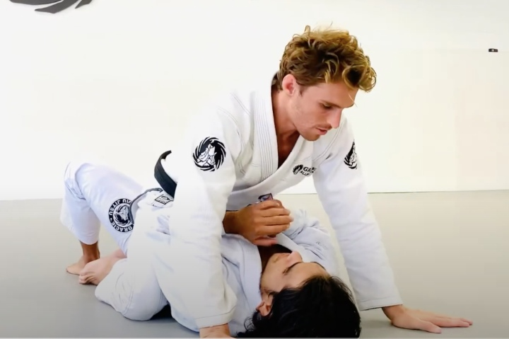 Clark Gracie Has a Very Cool Guillotine From Mount Set Up