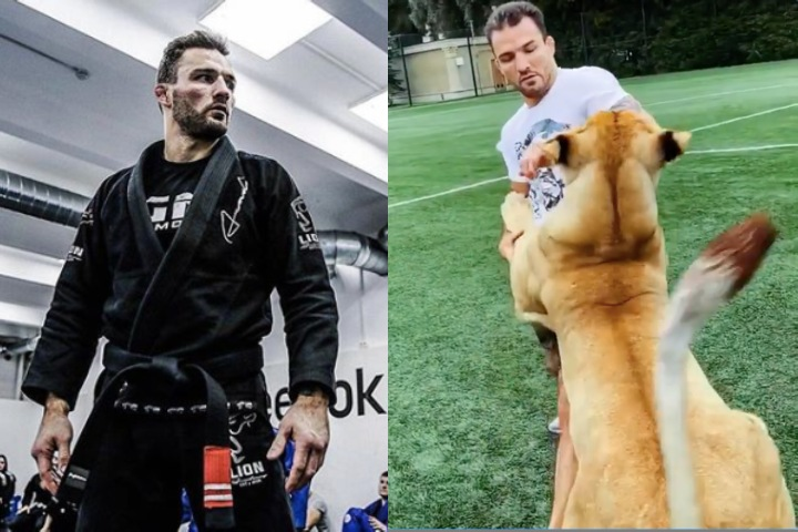 Russian BJJ Black Belt Who Defeated Khabib Nurmagomedov Grapples a Lioness