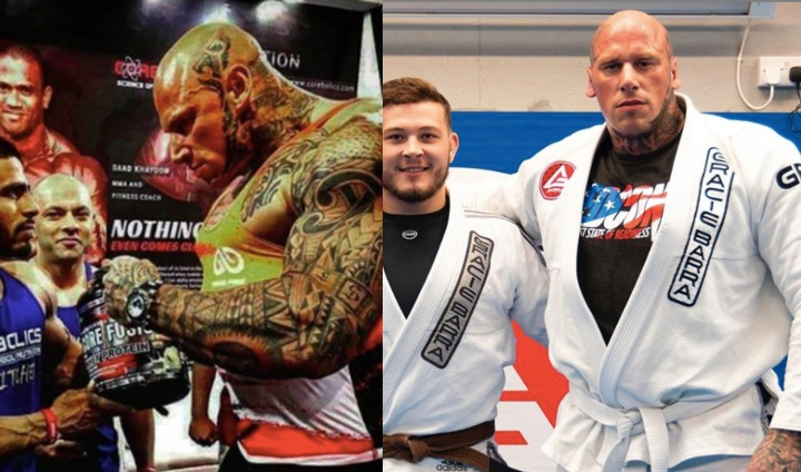 Real Life Hulk Martyn Ford is Back Training Brazilian Jiu-Jitsu After Academy Re-Opens
