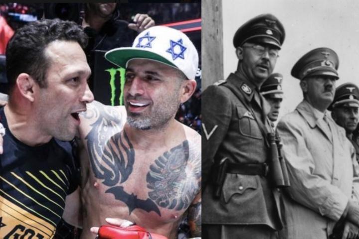 Israeli Jewish Black Belt Reacts To Renzo Gracie Quoting Nazi Leader Himmler