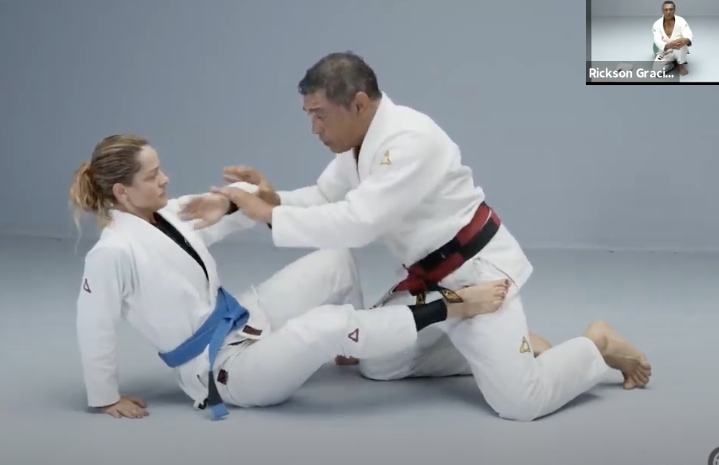 Enjoy This 1 Hour Live Class With the Legend Rickson Gracie