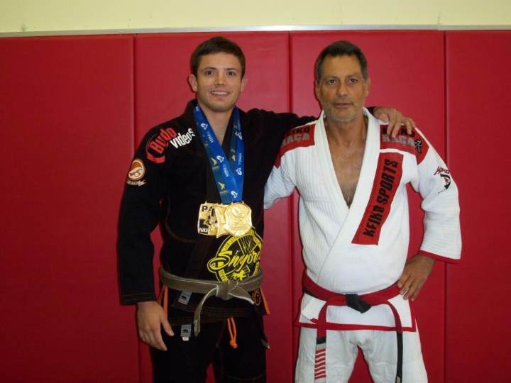 How Can Somebody with Average Athleticism but with Willpower Become a BJJ World Champion?