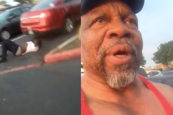 62 yr Old Jiu-Jitsu Practitioner Attacked In Parking Lot, Puts Attacker To Sleep